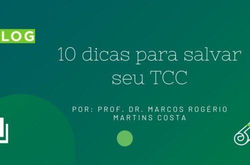 10 dicas para salvar seu TCC